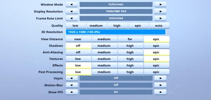 HighDistortion-video-setting