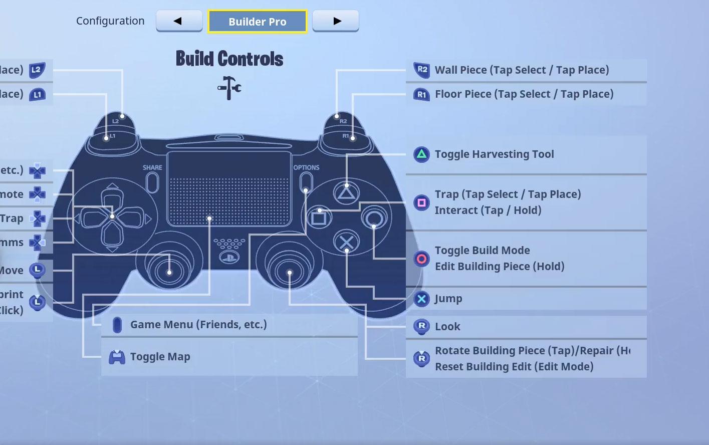NICKMERCS build controls ps4