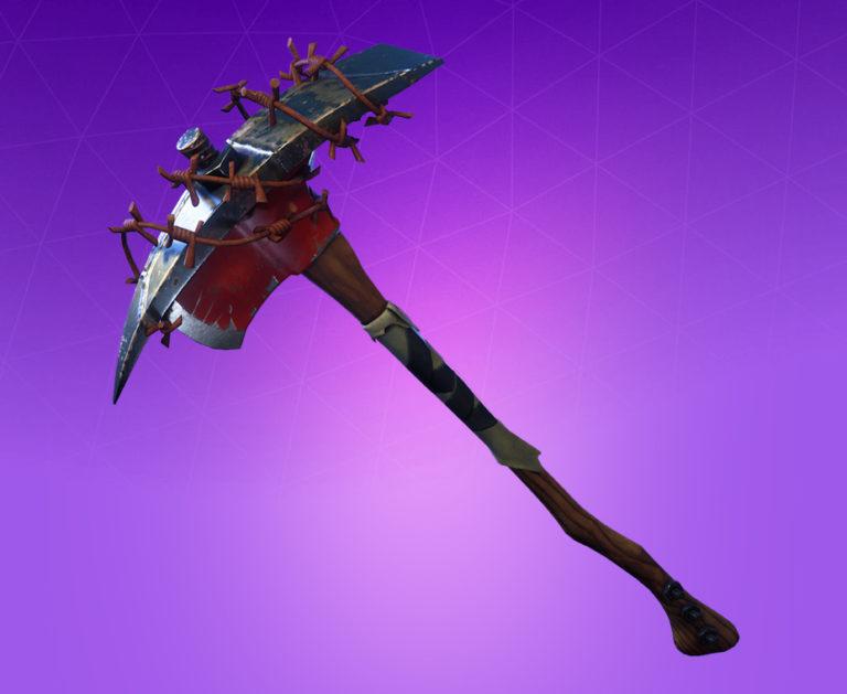 Raider's Revenge pickaxe