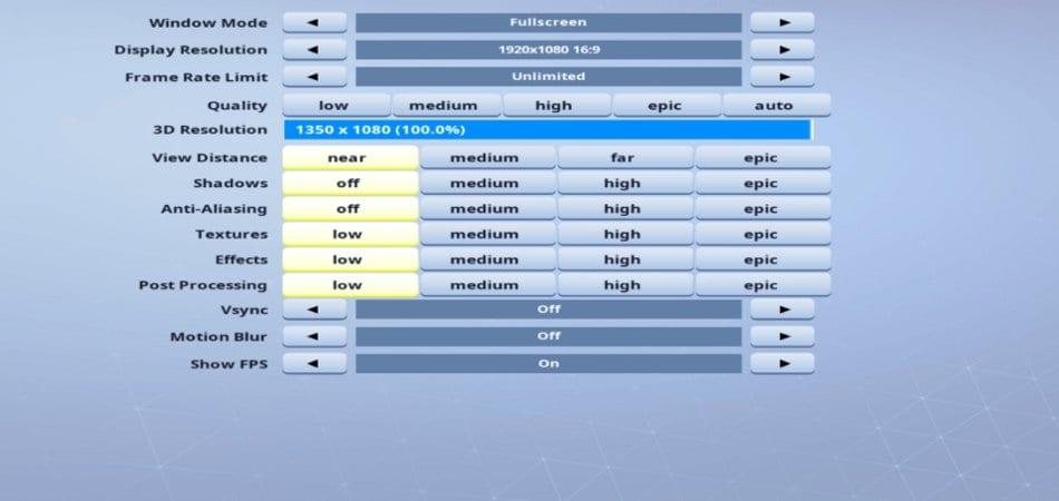 Issa-Video-setting
