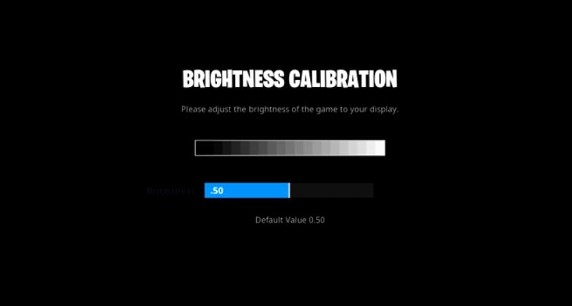 Morgausse brightness setting