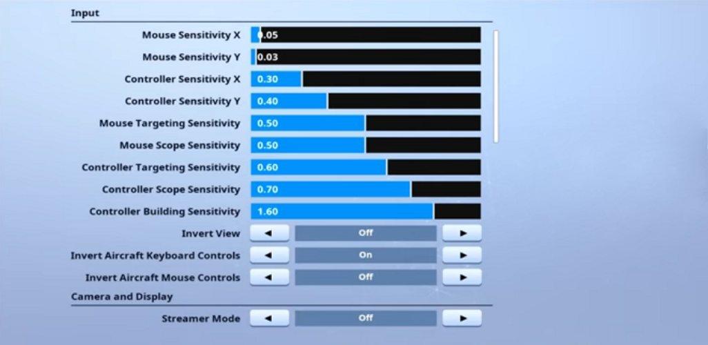 Tsm Wintrrz Fortnite Settings And Keybinds Updated